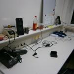 Laborarbeitsbereich