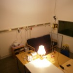 Büro/Lounge aus Fenster-Ecke